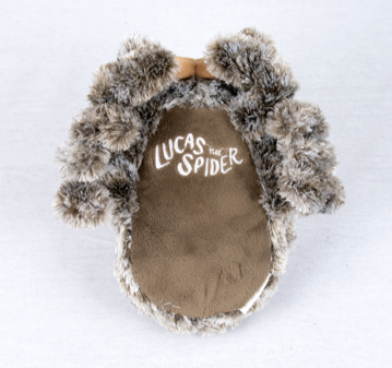 Lucas the Spider Plushie bottom